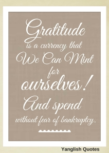 A Thanksgiving quote